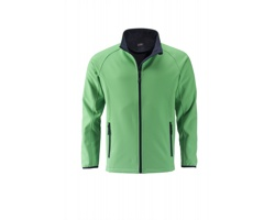 Pánská softshellová bunda James & Nicholson Mens Promo Softshell Jacket