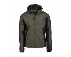 Pánská softshellová bunda Tee Jays Hooded Lightweight Performance Softshell Jacket