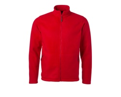 Pánská fleecová bunda James & Nicholson Fleece Jacket