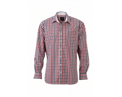 Pánská košile James & Nicholson Mens Checked Shirt