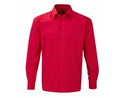 Pánská košile Russell Long Sleeve Classic Pure Cotton Poplin Shirt