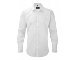 Pánská košile Russell Mens Ultimate Stretch Shirt Longsleeve
