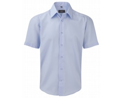 Pánská košile Russell Men´s Short Sleeve Tailored Ultimate Non-iron Shirt