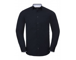 Pánská košile Russell Long Sleeve Tailored Contrast Ultimate Stretch Shirt