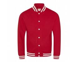 Unisexová mikina AWDis Just Hoods College Jacket
