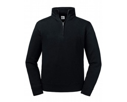 Pánská mikina Russell Authentic 1/4 Zip Sweat