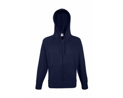 Pánská mikina Fruit of the Loom Lightweight Hooded Sweat Jacket