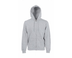 Pánská mikina Fruit of the Loom Classic Hooded Sweat Jacket