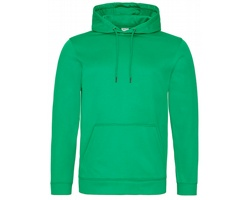 Unisexová mikina s kapucí AWDis Just Hoods Sports Polyester