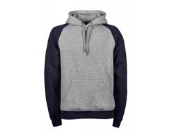 Pánská mikina s kapucí Tee Jays Two-Tone Hooded Sweatshirt