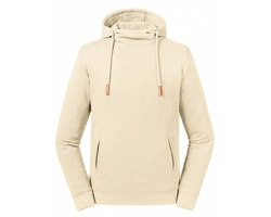 Pánská mikina Russell Pure Organic High Collar Hooded Sweat