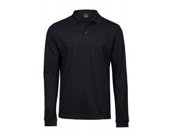 Pánská polokošile Tee Jays Luxury Stretch Long Sleeve Polo