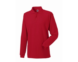 Unisexová polokošile Russell Long Sleeve Classic Cotton Polo