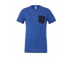 Pánské tričko Canvas Jersey Short Sleeve Pocket