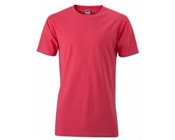 Pánské tričko James & Nicholson Mens Slim Fit-T