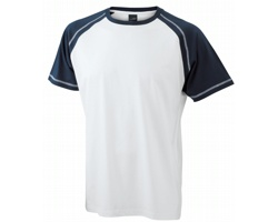 Pánské tričko James & Nicholson Raglan-T