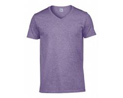 Pánské tričko Gildan Softstyle Adult V-Neck T-Shirt
