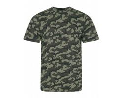 Pánské tričko AWDis Just Ts Camo T