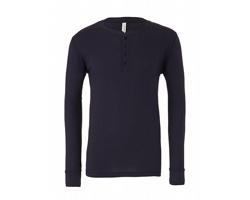 Pánské tričko Canvas Jersey Long Sleeve Henley