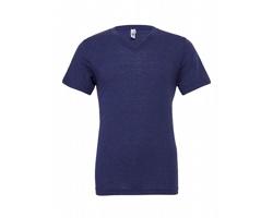 Pánské tričko Canvas Triblend V-Neck