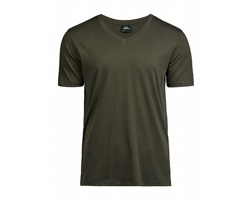 Pánské tričko Tee Jays Luxury V-Neck Tee