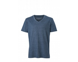 Pánské tričko James & Nicholson Mens Heather T-Shirt