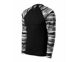 Unisexové tričko Adler Malfini Camouflage LS