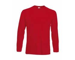 Pánské tričko Fruit of the Loom Valueweight Long Sleeve T