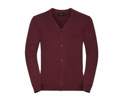 Pánský svetr Russell V-Neck Knitted Cardigan