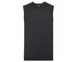 Pánská pletená vesta Russell V-Neck Sleeveless Knitted Pullover
