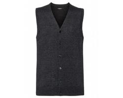 Pánská pletená vesta Russell V-Neck Sleeveless Knitted Cardigan