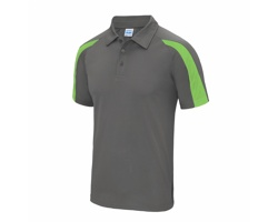 Pánská sportovní polokošile AWDis Just Cool Contrast Polo