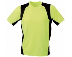 Pánské sportovní tričko James & Nicholson Mens Running-T I