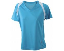 Dámské sportovní tričko James & Nicholson Ladies Running-T II