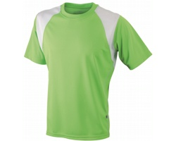 Pánské sportovní tričko James & Nicholson Mens Running-T II