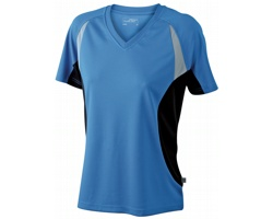 Dámské sportovní tričko James & Nicholson Ladies Running-T III