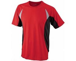 Pánské sportovní tričko James & Nicholson Mens Running-T III