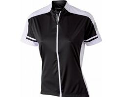 Dámské sportovní tričko James & Nicholson Ladies Bike-T Full Zip