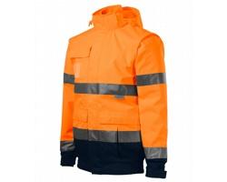 Unisexová pracovní bunda Rimeck HV Guard 4v1