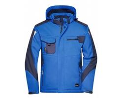 Pánská pracovní bunda James & Nicholson Craftsmen Softshell Jacket - STRONG