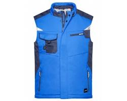 Pánská pracovní vesta James & Nicholson Craftsmen Softshell Vest - STRONG