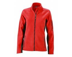 Dámská pracovní bunda James & Nicholson Workwear Fleece Jacket - STRONG