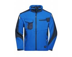 Pánská pracovní bunda James & Nicholson Workwear Softshell Jacket - STRONG