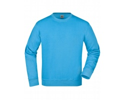 Unisexová pracovní mikina James & Nicholson Workwear Sweat