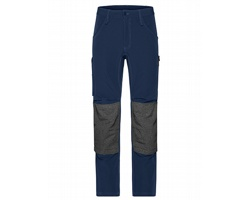 Pánské pracovní kalhoty James & Nicholson 4-Way Stretch Slim Line