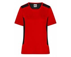 Dámské pracovní tričko James & Nicholson Workwear T-Shirt - STRONG
