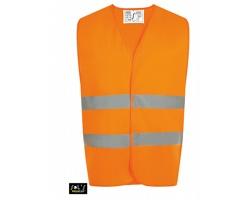 Unisexová reflexní vesta Sol's Secure Pro Safety Vest