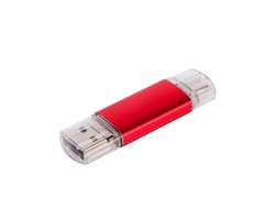 Klasický USB flash disk ARGONNE OTG - duální, Type-C, 3v1