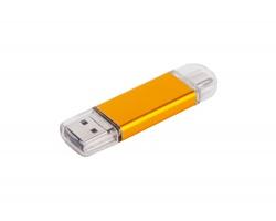 Klasický USB flash disk LAPINE OTG - duální, Type-C, 3v1