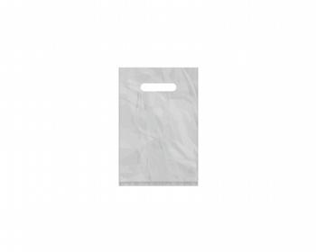 Náhled produktu Igelitová PE taška stříbrná - 200x300mm, průhmat